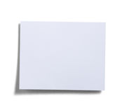 White note pad Royalty Free Stock Image
