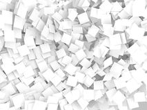 White note papers  background Stock Photos