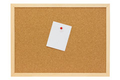 White note Royalty Free Stock Images