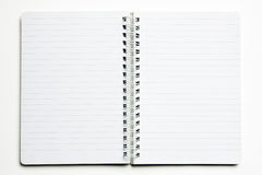 White notebook Stock Photos