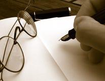 White notebook Stock Photo