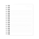 white notebook with dotted lines can shred. Royalty Free Stock Photos