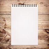 White notebook for painting Royalty Free Stock Image