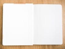 White notebook Royalty Free Stock Photos