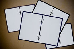 White notebooks Stock Photography