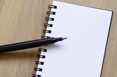 White notepad Royalty Free Stock Photography