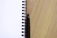 White notepad Stock Image
