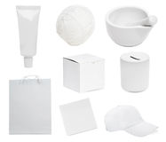 White objects Royalty Free Stock Image