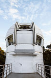 White observatory. The white observatory and blue sky Stock Photo