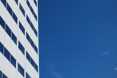 White office building. A modern white office building Stock Image