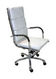White office chair Royalty Free Stock Photos
