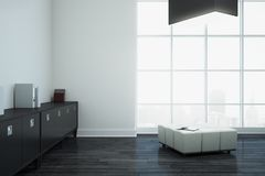 White office interior with copyspace Royalty Free Stock Photos