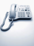 White office telephone Stock Photography