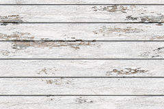 White old boards with shabby paint Royalty Free Stock Photo