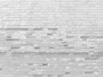 White old brick bleached wall. White old brick damaged rough wall texture background grunge royalty free stock photo