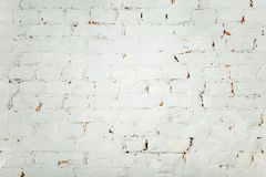 White old brick wall background stock photos