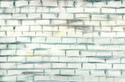 White old brick wall Royalty Free Stock Photo