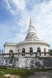 White old building. In Thai style Royalty Free Stock Photography