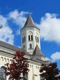 Old beautiful catholic church, Lithuania Stock Image