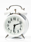 White Old Clock Royalty Free Stock Image