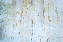 White old painted concrete dirty wall texture Stock Photos