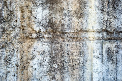 White old painted concrete dirty wall texture Stock Images