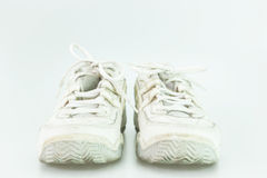 White old shoe Royalty Free Stock Photography