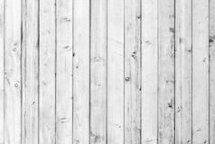 White old wood or wooden vintage plank floor or wall surface background decorative pattern. A minimal tabletop cover. Simple material for retro or creative Stock Image