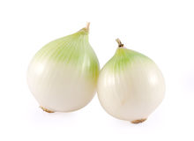 White onions Royalty Free Stock Photos