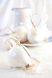 White onions. Still life. Shallow DOF Royalty Free Stock Photography