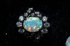 Free White Opal Ring Royalty Free Stock Image - 84964156
