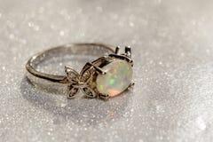 Free White Opal Ring Royalty Free Stock Image - 93260726
