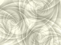 White Opaque Swirls Spirals Royalty Free Stock Images