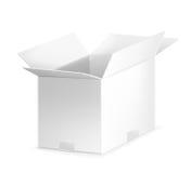 White open carton box Stock Image