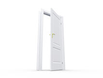 White Open Door Royalty Free Stock Photography