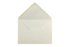 White open envelope Royalty Free Stock Images