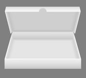 White open packing box vector illustration Royalty Free Stock Photos