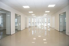 White open space office interior can be used as background.  stock photos