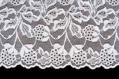 White openwork lace Royalty Free Stock Photos
