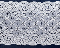 White openwork lace Royalty Free Stock Images