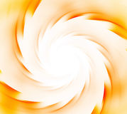 White and orange abstract background. Spiral rays of sunflare. S. Un energy explosion texture. Fractal pattern Stock Photography