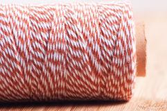 Baking twine roll closeup Stock Photos