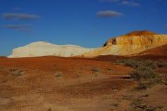 White and Orange Breakaways Stock Photography