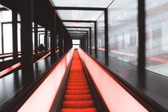 White and Orange Hallway stock photos
