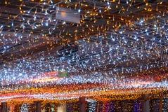 White orange light background Royalty Free Stock Image