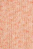 White-and-Orange Melange Knitted Pattern. White and Orange Melange Knitted Pattern Stock Image