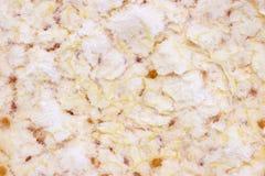 White orange pith. Macro image of white pith from inside orange skin background Stock Photo