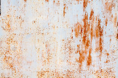 White and orange rusty background Stock Photo