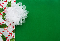 White Organza Bow Royalty Free Stock Image