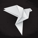 White origami dove Stock Photos